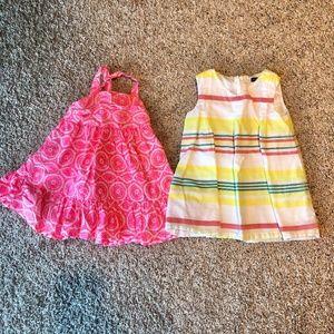 ✈️ 4/$25 ✈️ Two Summer Dresses